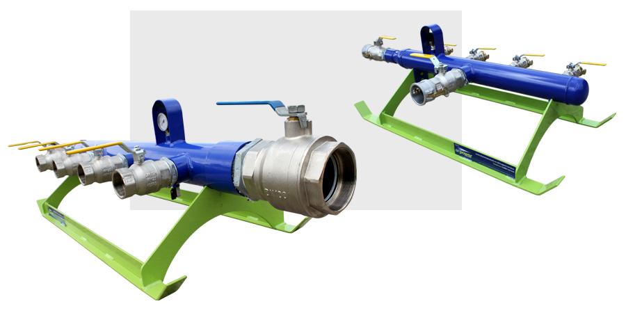 4 Way Compressed Air Manifold