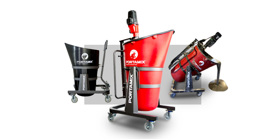 Portamix mobile mixing floor products